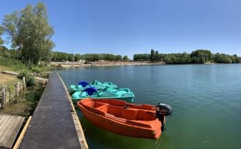 Île de loisirs du Val de Seine - Pédalos
