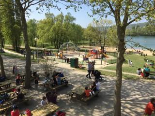 Île de loisirs du val de Seine - Aire de jeux