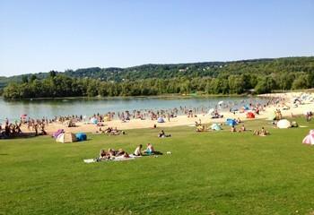 Île de loisirs du Val de Seine - Baignade